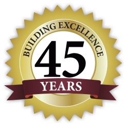 Building Excellence 45 years