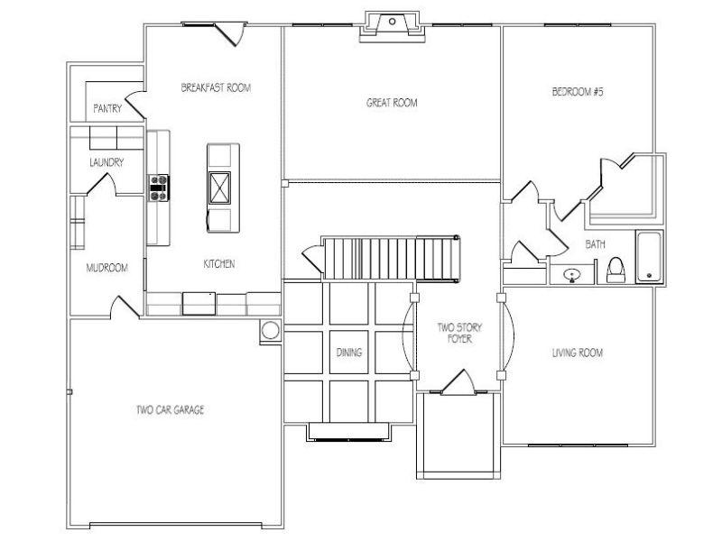 Almont homes is a builder of new homes in cumming ga for Charleston floor plan