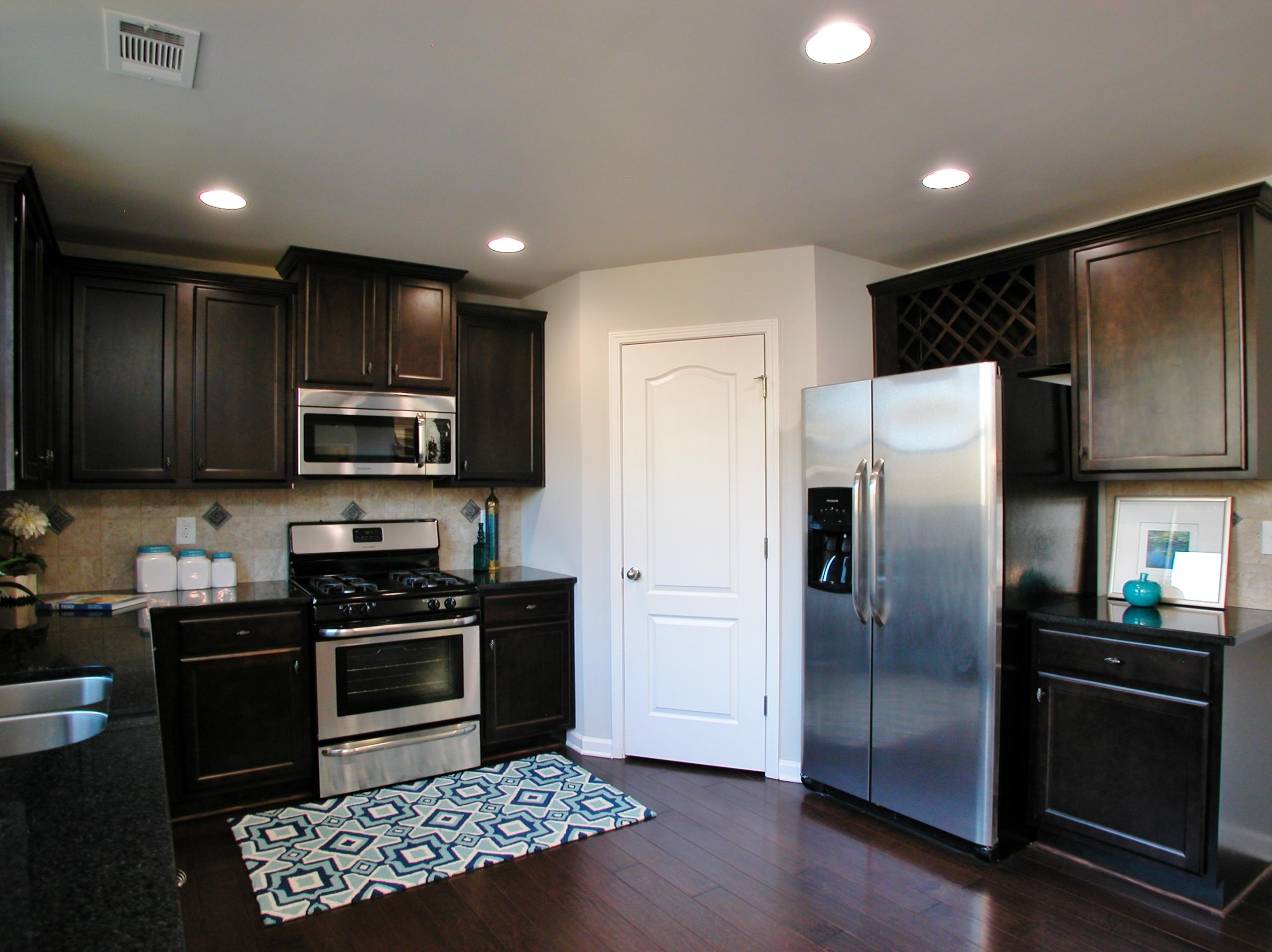 Kitchen For New Homes Liberty Estates New Homes In Braselton Ga