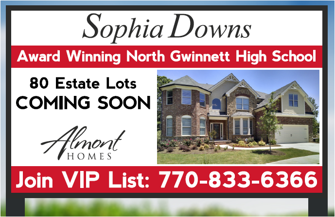 Almont Homes | New Homes in Cumming GA | Suwanee Home Builders
