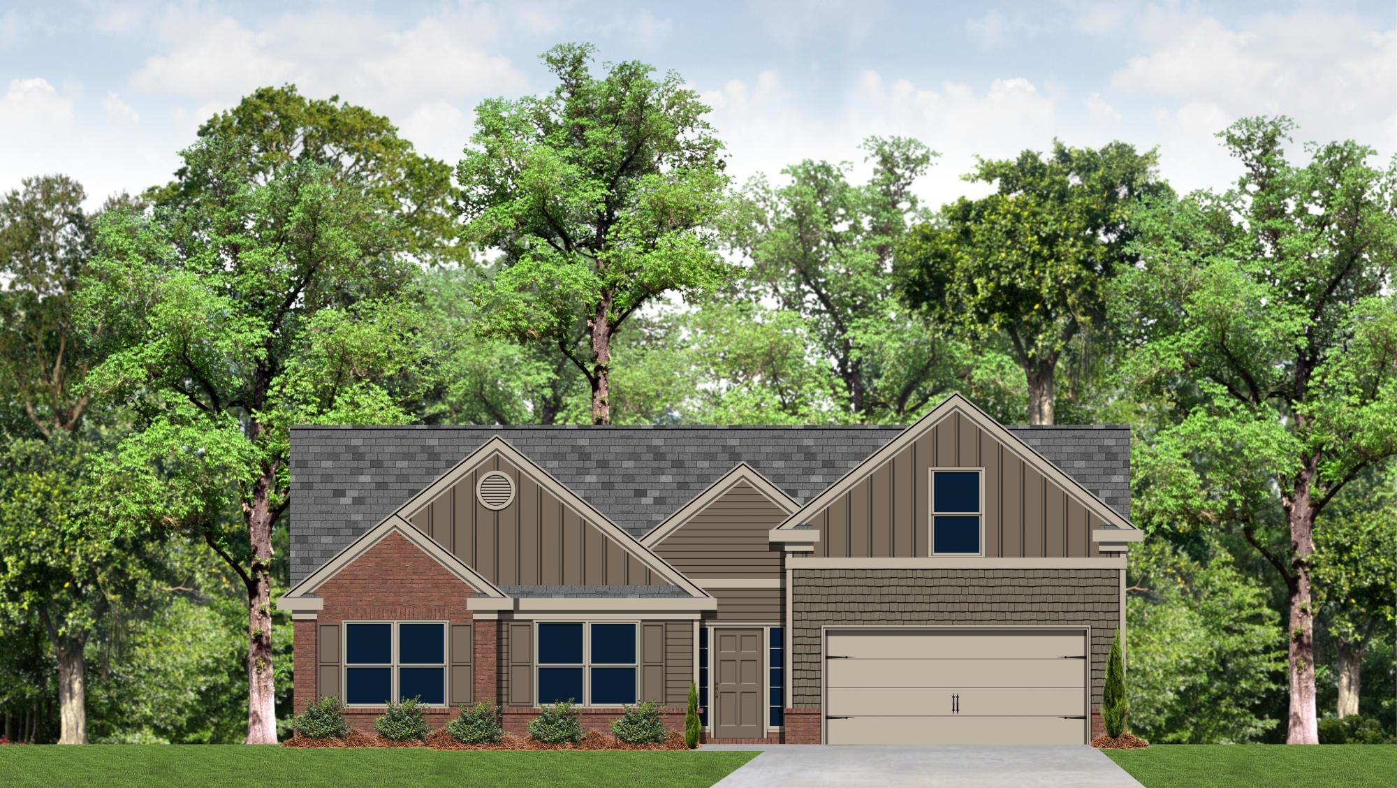The Beckett Floor Plans New Homes In Cumming Ga