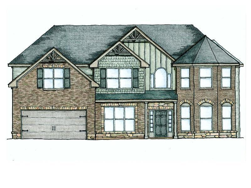 The Charleston Floor Plans New Homes In Cumming Ga
