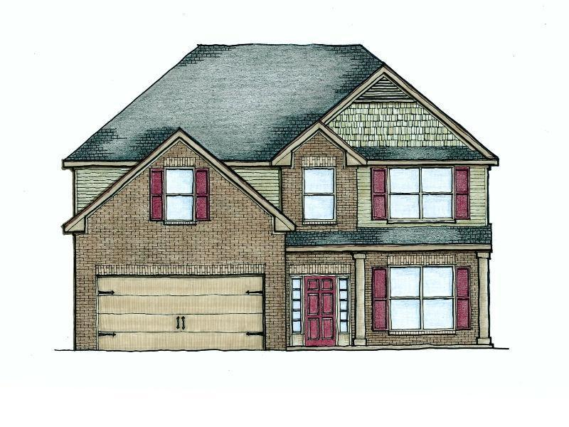 The Woodford Floor Plans New Homes In Cumming Ga