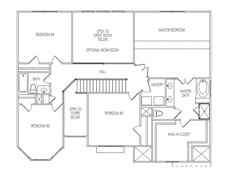 The Claire Floor Plans New Homes In Cumming Ga