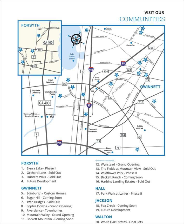 Communities Map 2020