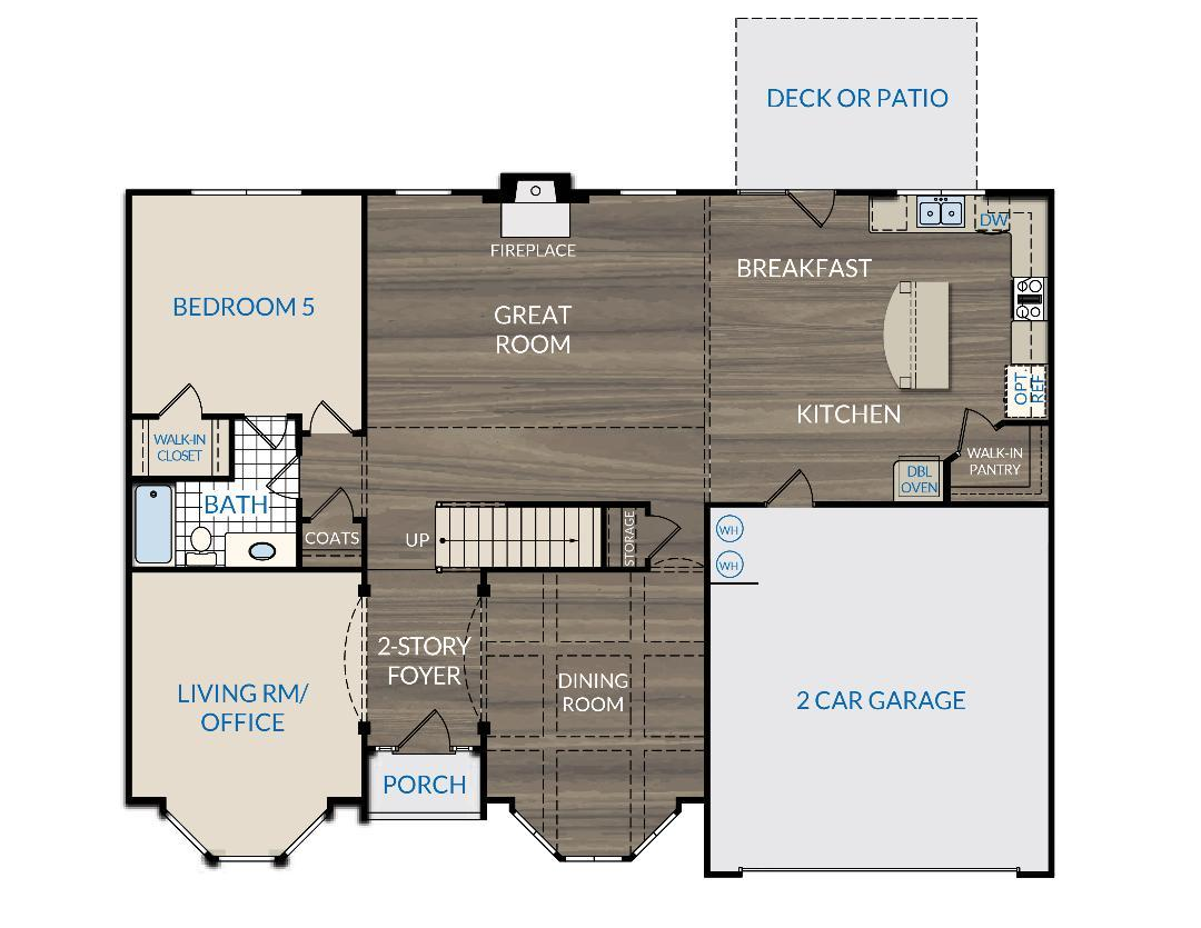 The Colton Floor Plans New Homes In Cumming Ga