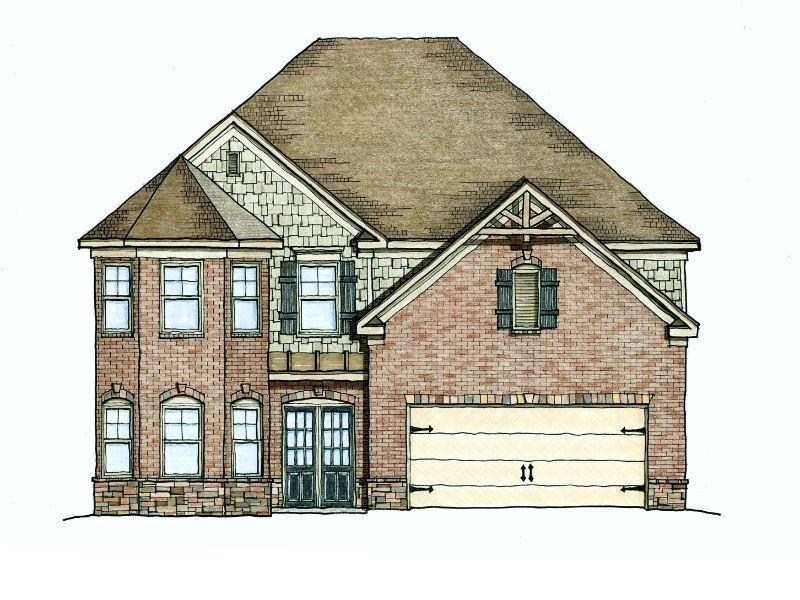 The Aberdeen Ii Floor Plans New Homes In Cumming Ga